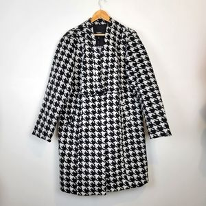 TORRID | Black and White Houndstooth Coat Size 2